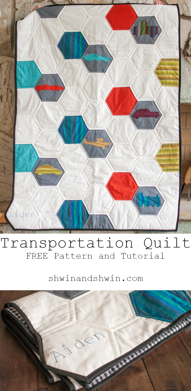 Transportation Quilt Pattern || Free Pattern - Shwin and Shwin : transportation quilt - Adamdwight.com