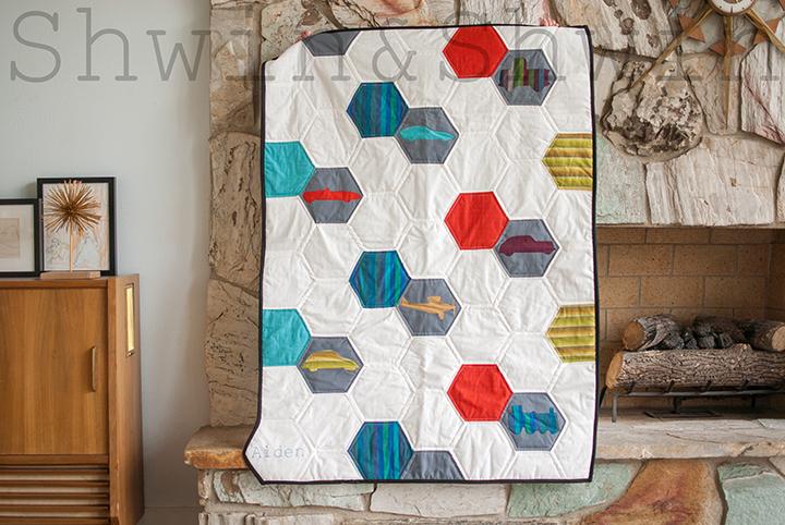Transportation Quilt || Free Pattern And Tutorial || Shwin&Shwin