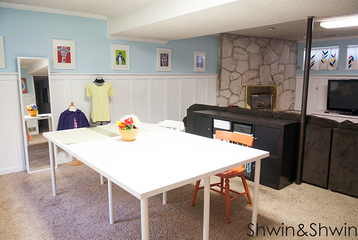 Shared Space || Studio Tour || Sewing room