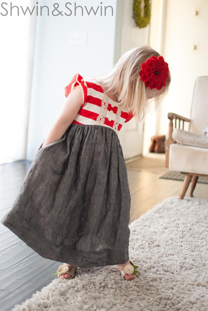 Sunshine Dress Pattern || Shwin Designs || #itssewshwin