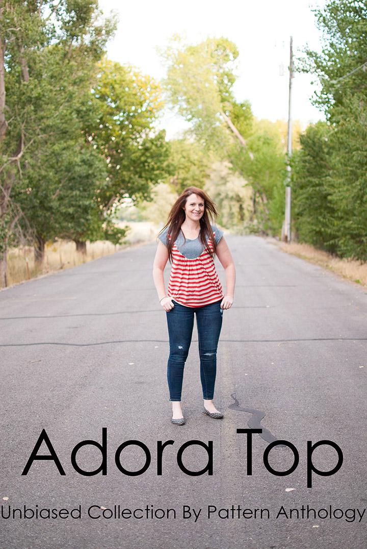 Adora Top || Unbiased Collection || Pattern Anthology