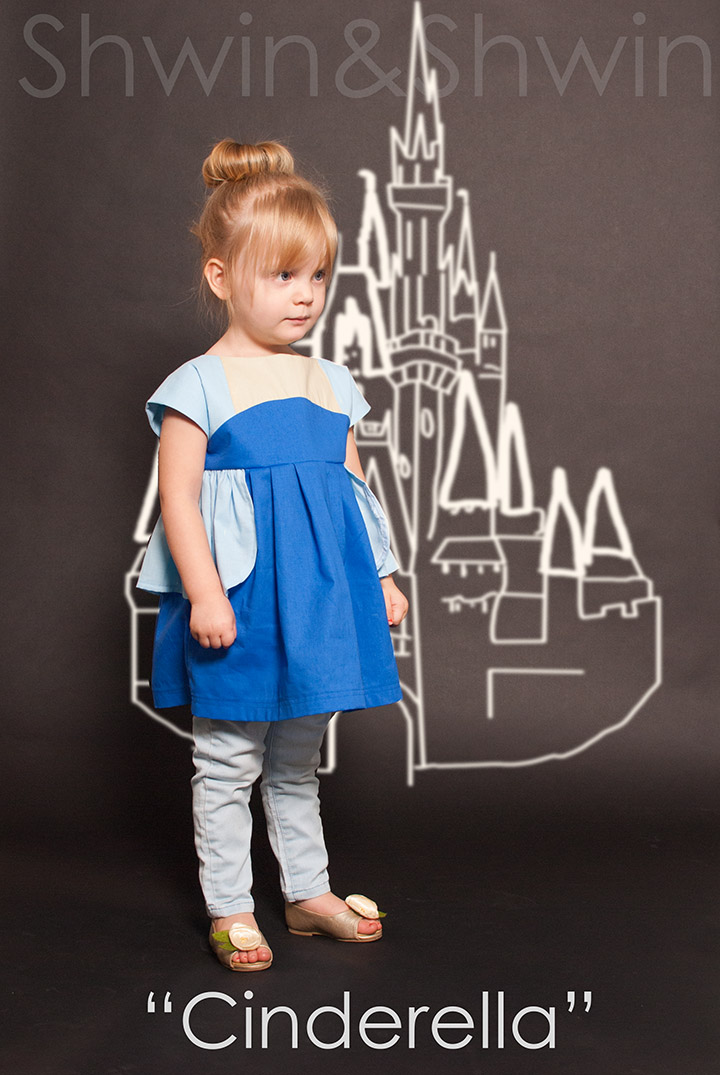 Cinderella || Everyday Princess || From the Maggie Mae Pattern || Shwin&Shwin