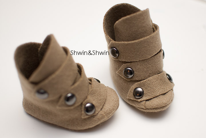 Wool riding boots for baby || FREE PDF Pattern || Shwin&Shwin