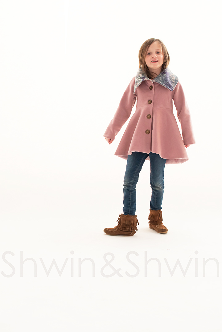 The Nina Coat Pattern by Shwin Designs