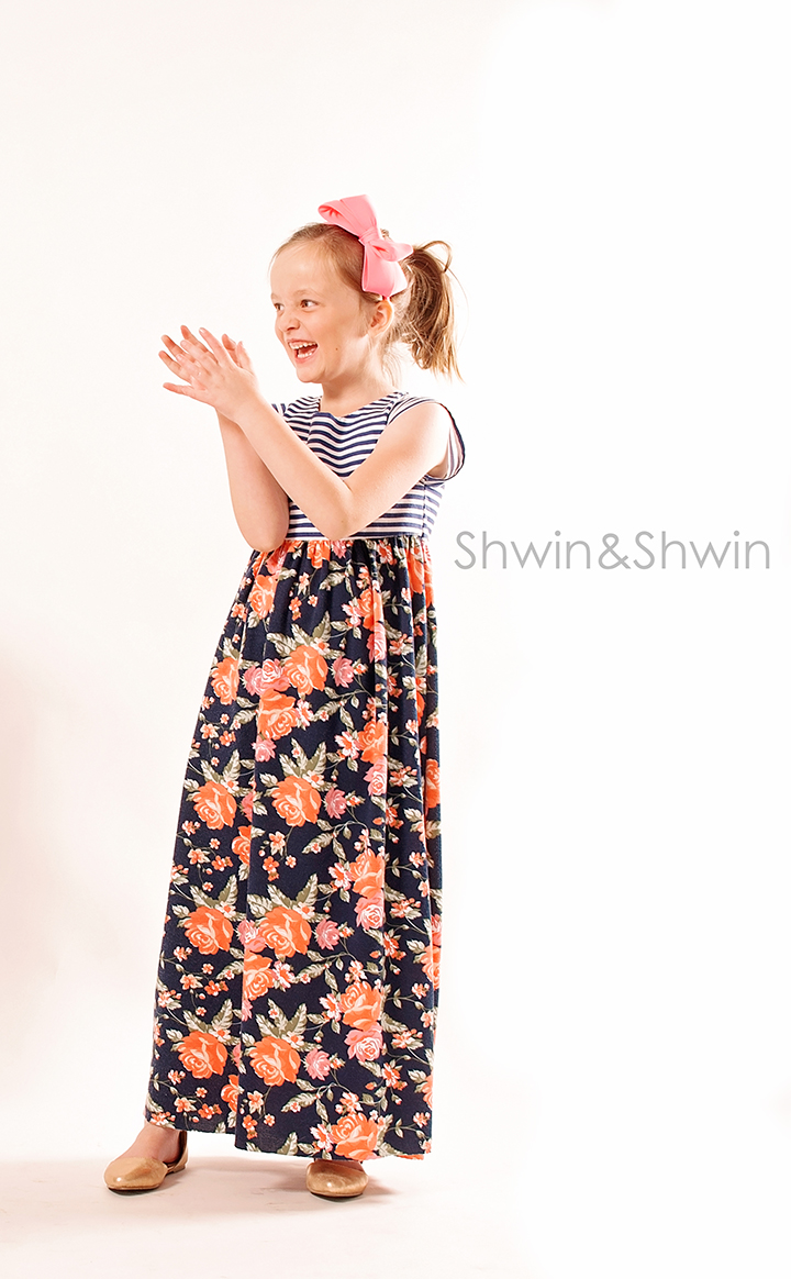 London Maxi Pattern || City Girl Collection || Shwin Designs