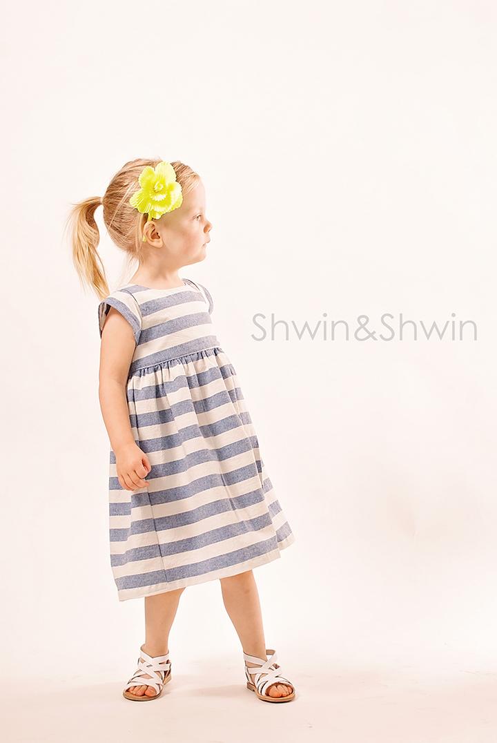 London Dress Pattern || City Girl Collection || Shwin Designs