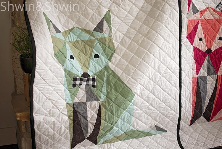 Free Fox Quilt Pattern || Shwin&Shwin