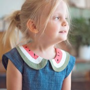 Watermelon Dress || Free PDF Pattern || Shwin&Shwin