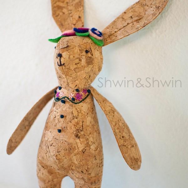 Woodland Bunny Softie || Free Pattern || Shwin&Shwin