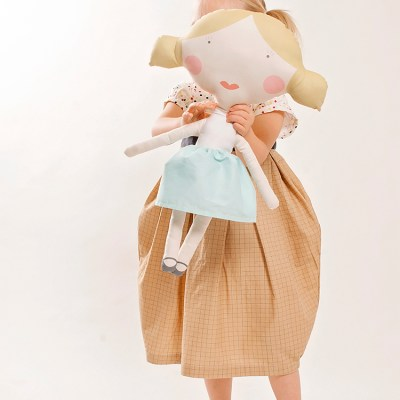 Ice Cream Dress || Doll Fabric Tour