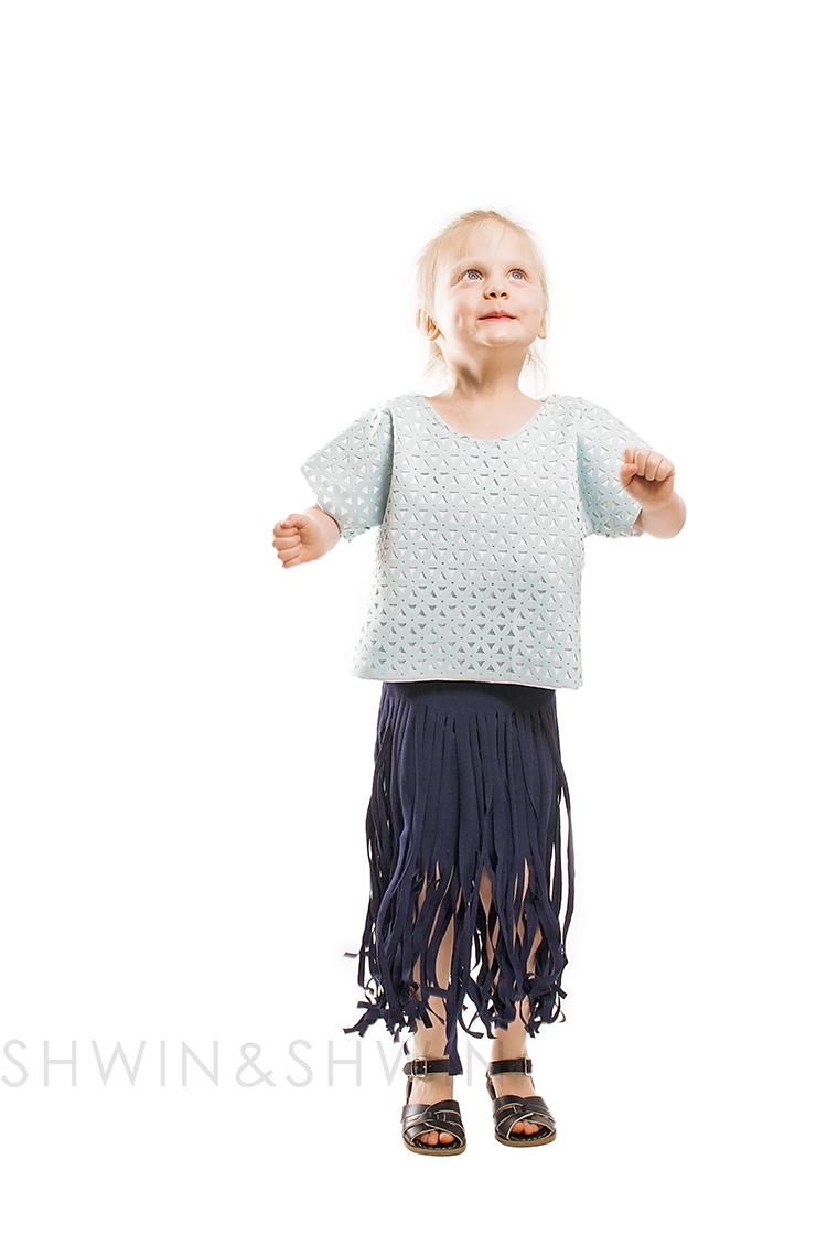 DIY Fringe Skirt Tutorial || Shwin&Shwin
