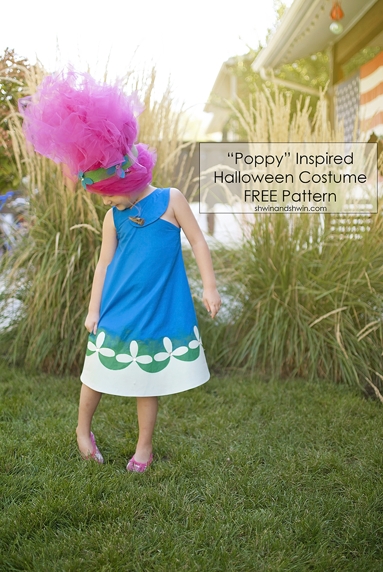 """Poppy"" Inspired Troll costume for Halloween 