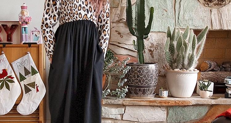 Maxi Length Mona Dress