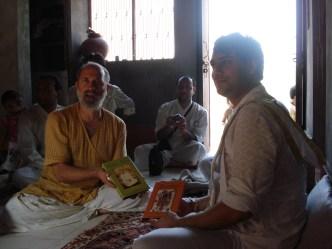 Book presentation, Karnaval baithak, 2007