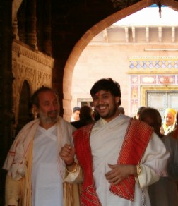 03-3-07_emerging from Kamvan Haveli with a smile