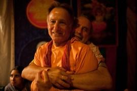 Affection with friend Shridhar of BhaktiFest