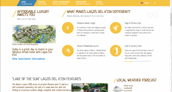 First Lagos Del K'iin Website 2014