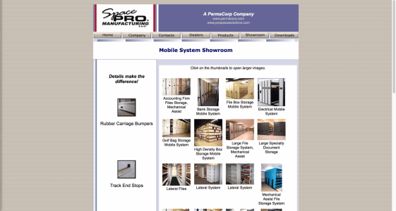 MCA Mobiles Website (2002)