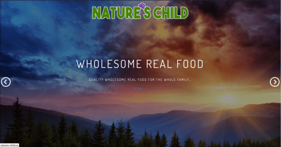 Nature's Child Affiliate Website