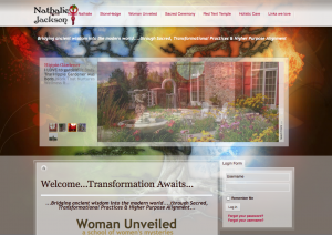 Nathalie Jackson's Personal Website 2011