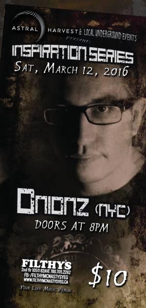 Onionz-ticket