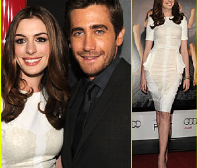 Anne Hathaway Jake Gyllenhaal Love Other Drugs Opening Night0 Comments