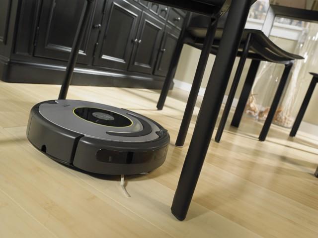 Le Roomba 630 en action