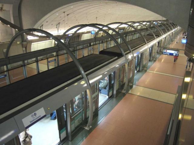 La ligne 14 du métro parisien