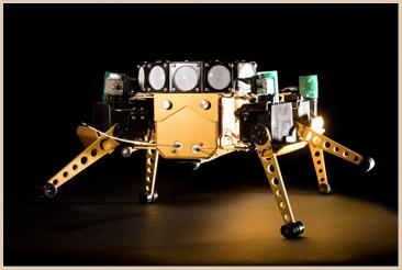 Robot d'exploration lunaire