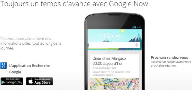 Google Now devine votre besoin avant même que vous ayez conscience d'en avoir un.