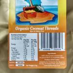 Raw Coconut Threads -Gold Thread