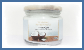White Gold 300ml Glass Water Colour