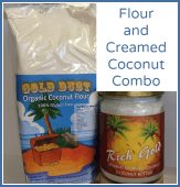 Flour & Creamed Coconut Combo