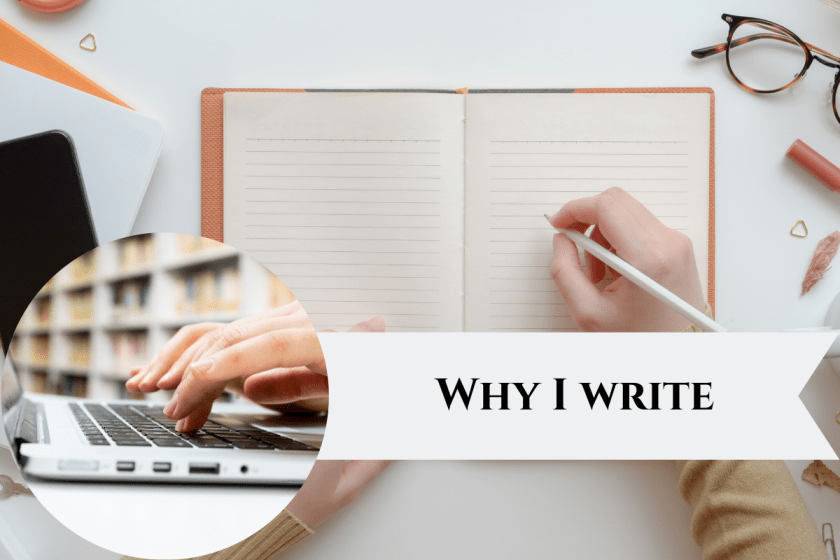 Featured Image Why I write