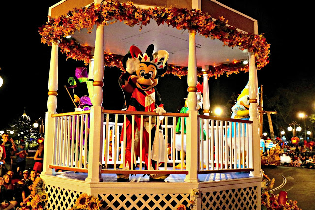 Mickey on the Boo to you Parade float