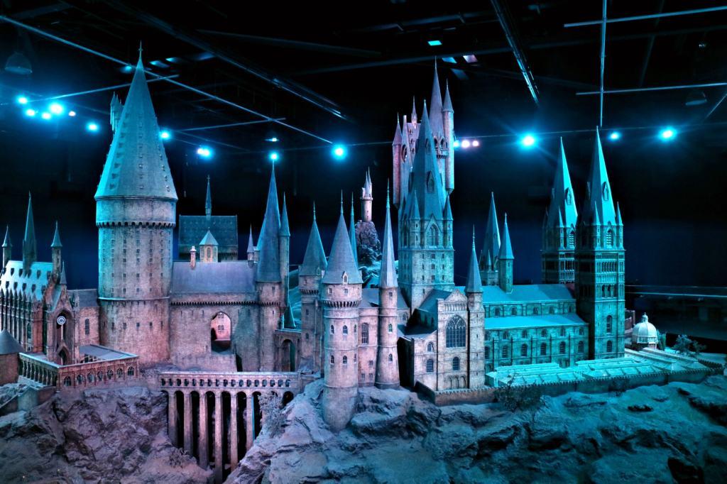 Hogwarts castle set