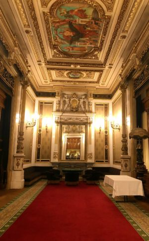 Emperor's room from the Vienna Opera House tour