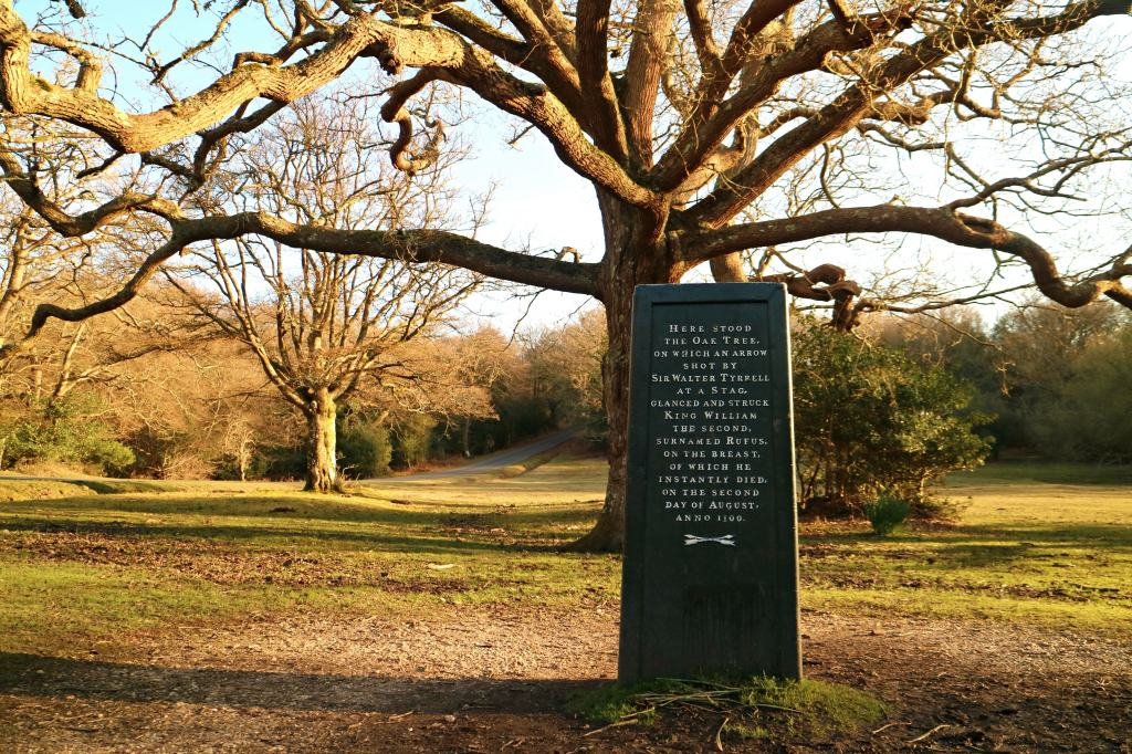 The Rufus Stone in The New Forest