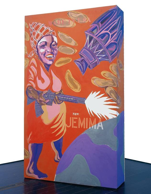 Joe Overstreet's 'The New Jemima,' 1964