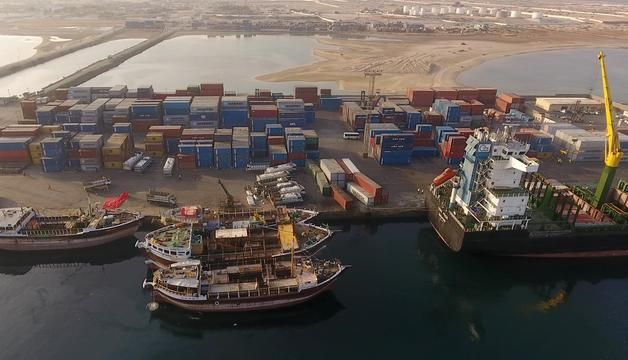 DP World brought in modern cargo equipment to the port at Berbera and plans to start extending the quay this month.