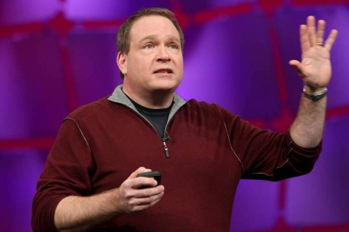 "'A lot of CEOs go into Andy's keynote saying, ""God, I hope Amazon doesn't introduce a product that competes with mine,"" ' says Snowflake Computing CEO Bob Muglia."