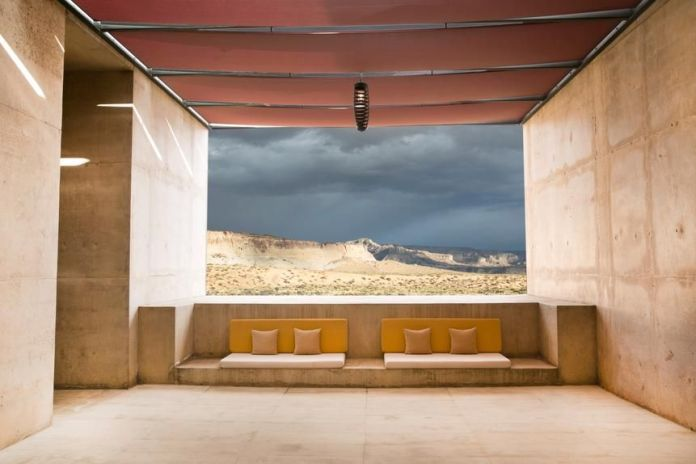 Amangiri in southern Utah, one of the glamorous lodging options offered by luxury road trip planners such as EXP Journeys, All Roads North and Black Tomato.