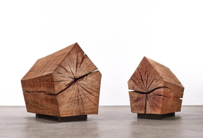 James Surls, who works with wood, has a studio near Aspen.