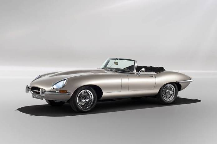 With 30-something more horsepower and an additional 50 lb-ft of electric torque, the Zero accelerates from 0-62 mph in 5.5 seconds, a least a second quicker than a vintage 4.2-liter E-Type.