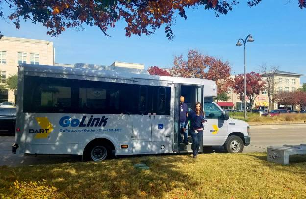 The Dallas Area Rapid Transit authority has developed an on-demand service called GoLink through a smartphone app that serves a growing industrial zone with warehouses for several retailers and big logistics companies.