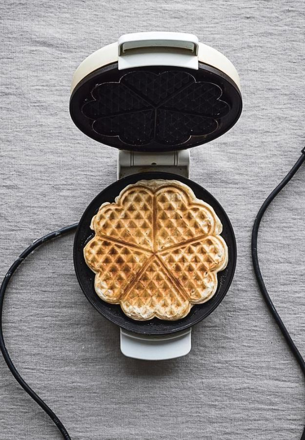 Crisp waffles.