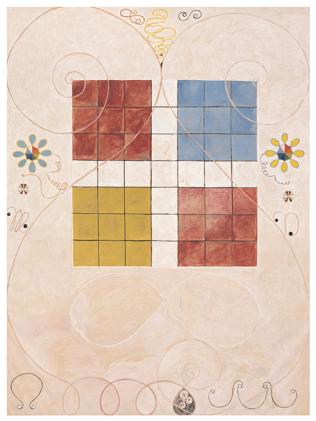 Hilma af Klint's 'Group IV, The Ten Largest, No. 10, Old Age' (1907)
