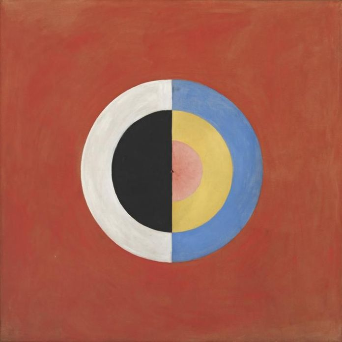 Hilma af Klint's 'Group IX/SUW, The Swan, No. 17' (1915)
