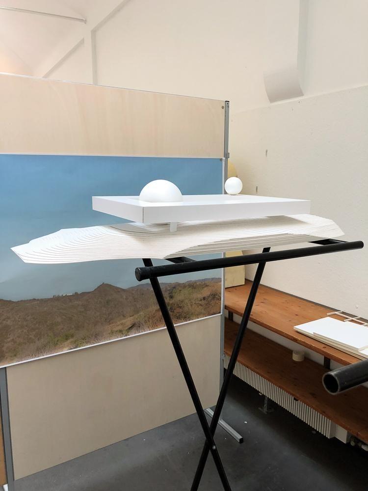SMALL WONDER Another model of the Berggruen Institute.  Swiss Architecture Firm Herzog & De Meuron Celebrates 40 Years B3 CF121 HANDD6 1000V 20181029171320