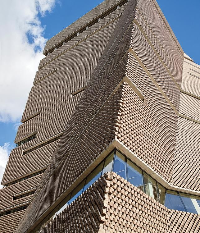 The Tate Modern Switch House, an addition to the London museum.  Swiss Architecture Firm Herzog & De Meuron Celebrates 40 Years B3 CF122 HANDD7 750V 20181029171331
